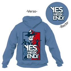 Sweat - shirt BP « Yes, week-end ! » Taille XXL