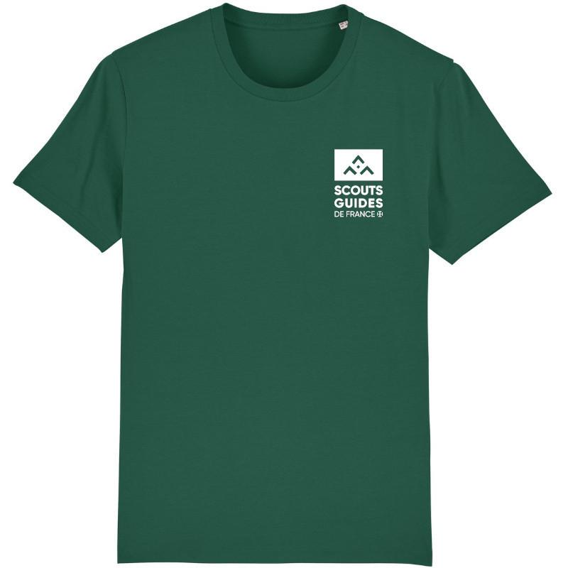 T-shirt Compagnons (nouveau modèle) - vert sapin