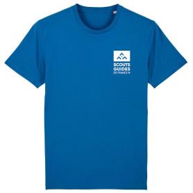 T-shirt Scouts Guides (nouveau modèle) - bleu