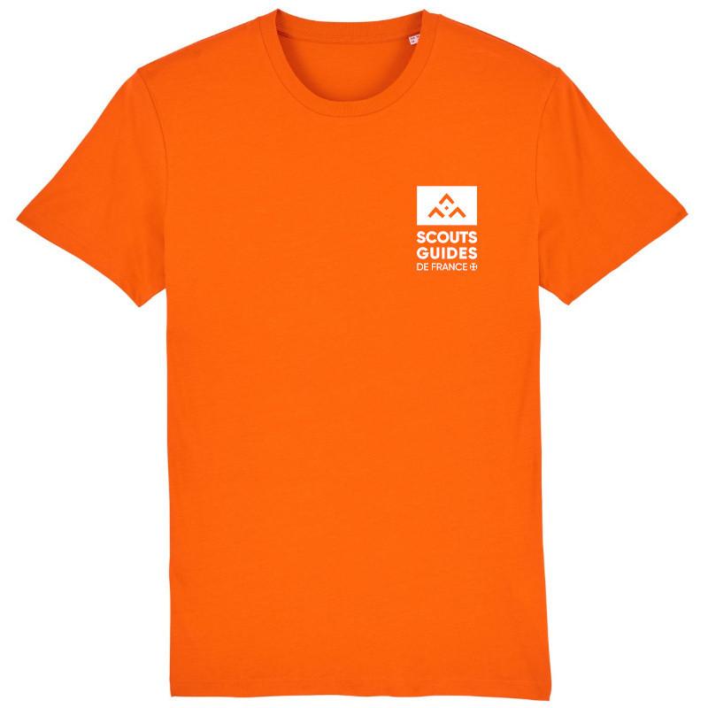T-shirt Louveteaux Jeannettes (nouveau modèle) - orange