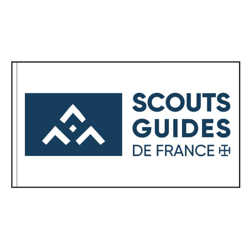 Drapeau logo SGDF