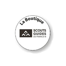Tampon rond avec logo SGDF