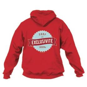Sweat - shirt « Génération scoute » Rouge Taille L
