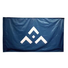 Drapeau avec symbole SGDF