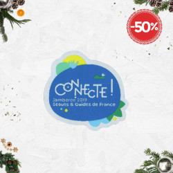 Insigne Connecte - Jamboree Scouts Guides 2019