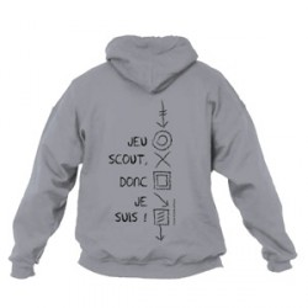 Sweat - shirt « Jeu scout, donc je suis ! » Taille 9/11 ans