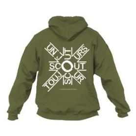 Sweat - shirt « Scout un jour, scout toujours » Taille S