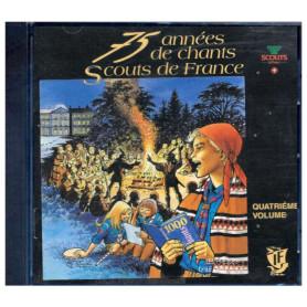 CD 75 années de chants Scouts de France - Volume 4