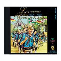 CD Chants Scouts de France - Années 1980-1999 -