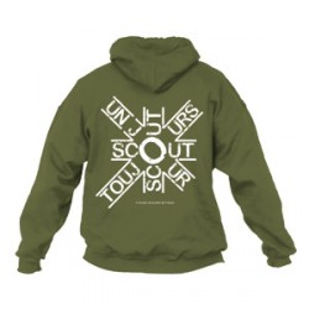 Sweat - shirt « Scout un jour, scout toujours » Taille M