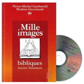 Mille images bibliques Ancien Testament - Livre & CD d'illustrations-