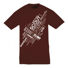 Tee - shirt « Nuage de mots » Taille L