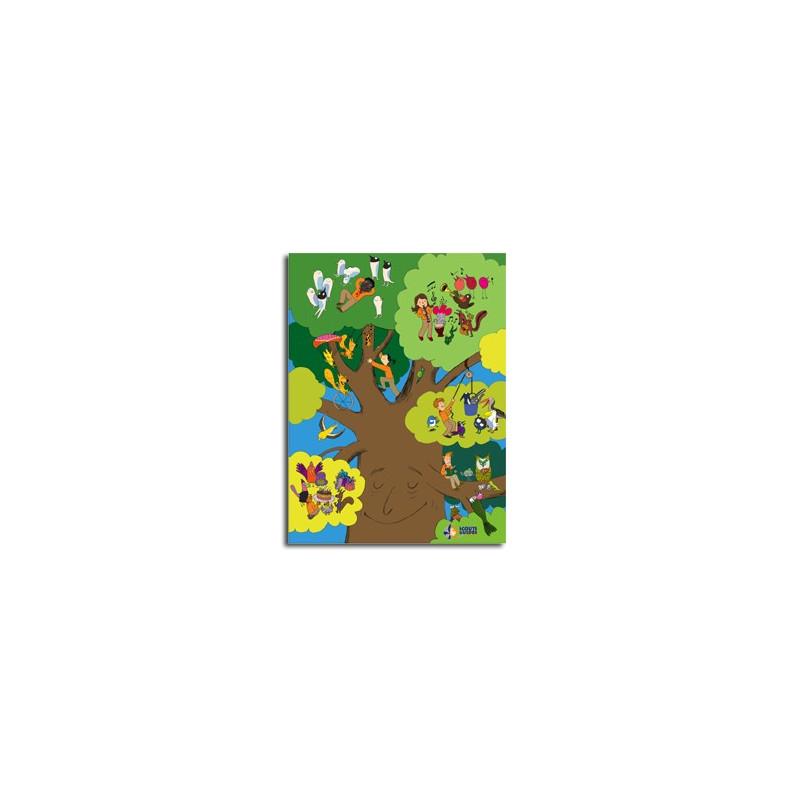 Affiche les sylphes de la forêt