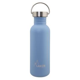 Gourde cylindrique bleue grande anse