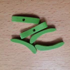 Lot de 5 pierres vertes pour Cairn