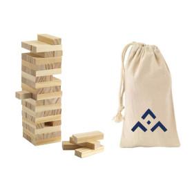 Jeu de Tour en bois avec symbole SGDF
