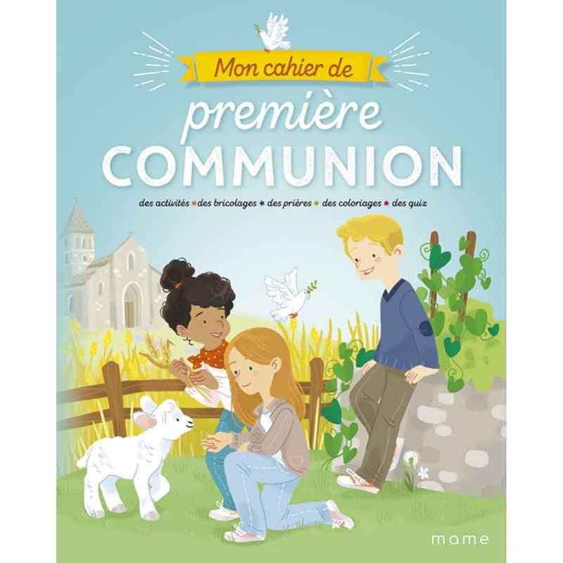 Mon cahier de première communion