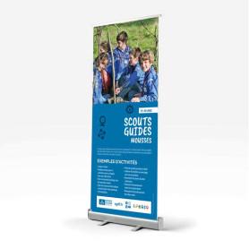 Kakémono pour les Scouts / Guides