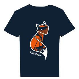 Tee-shirt « Kidiscout » bleu marine