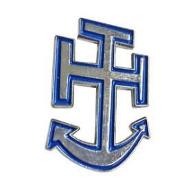 Pin's croix marine