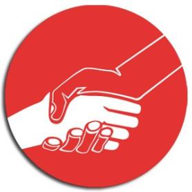 Insigne solidarité et ouverture aux autres