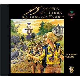CD 75 années de chants SDF - Volume 3