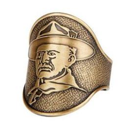 Bague en cuivre Baden Powell