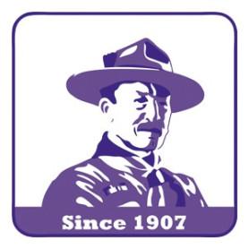 Insigne tissé Baden Powell