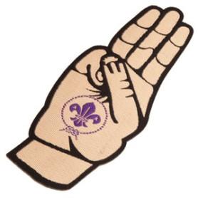Insigne tissé promesse scoute