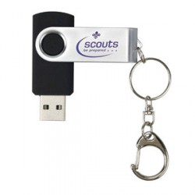 Clé USB du scoutisme mondial