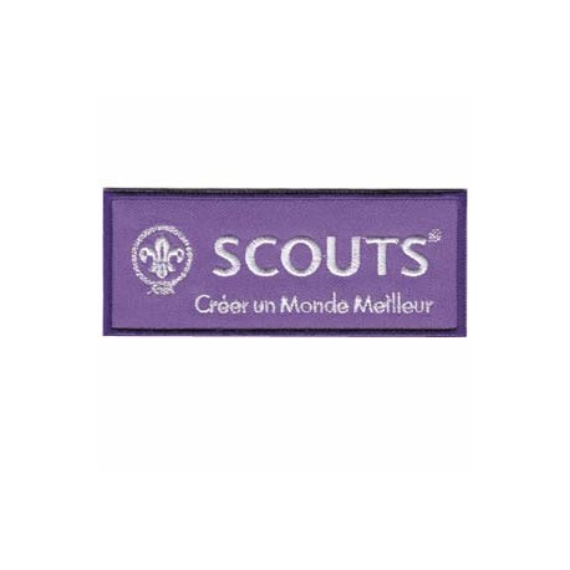 "Insigne ""scouts"" brodé"